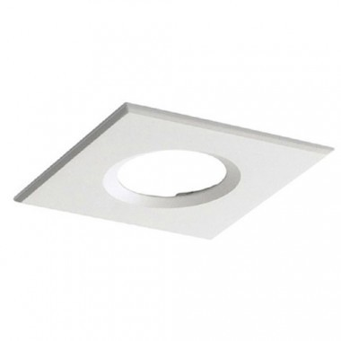 GAP LIGHTING Collerette carrée pour spot encastrable DLX10 blanc
