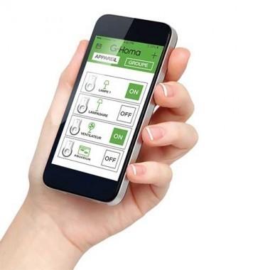 Alarme connecté wifi G-HOMA et accessoires - EMW302WF-HS