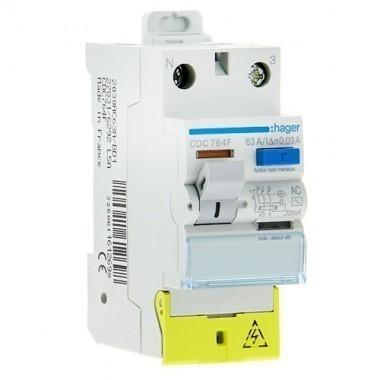 HAGER Interrupteur différentiel type AC 63A 30mA