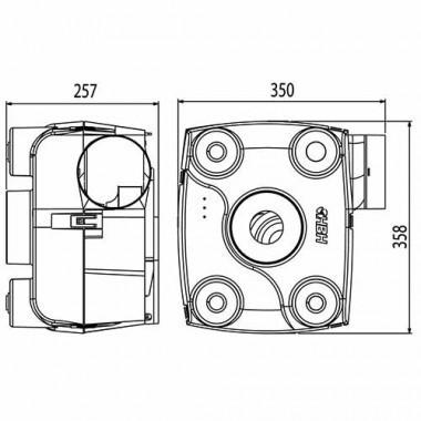 HBH Kit VMC autoréglable simple flux Facilio - 908560