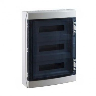 tableau lectrique tanche ide 3 rang es 18 modules ip65. Black Bedroom Furniture Sets. Home Design Ideas