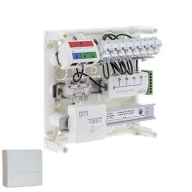 IKEPE tableau de communication Grade 1 avec répartiteur téléphonique 8RJ45