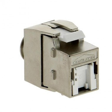 IKEPE Lot de 4 connecteurs RJ45 Grade 3TV Categorie 6a STP femelle