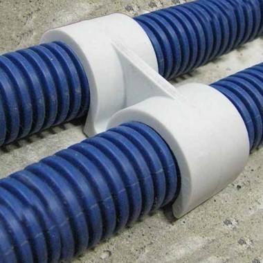 Fix-ring Fixation double pour gaine ICTA D20 ING FIXATIONS - Boite de 100