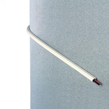 INOFIX Cablefix Gaine adhésive 10,5 x 10 mm - Blanc - 4