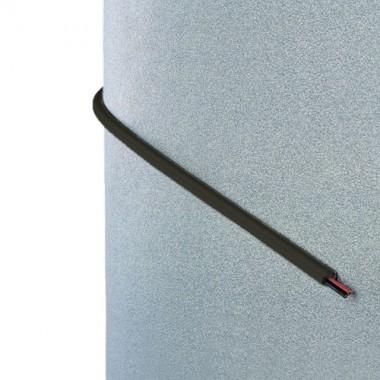 INOFIX Cablefix Gaine adhésive 10,5 x 10 mm - Marron - 4