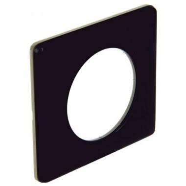 LEGRAND Céliane Plaque Métal 1 poste Carbone - 068981 - 2