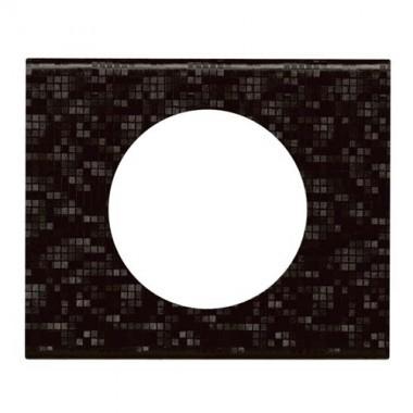 LEGRAND Céliane Plaque Matières 1 poste Cuir pixel - 069451