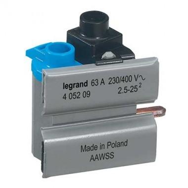 LEGRAND Borne de connexion pour inter diff auto 63A DX3 - 405209