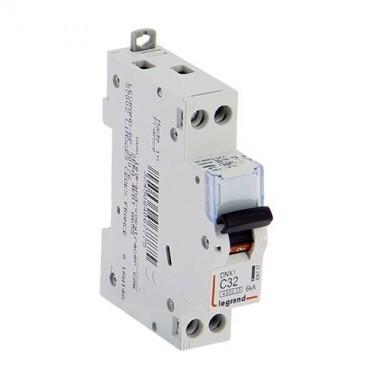 LEGRAND DNX3  Disjoncteur électrique Uni + neutre 32A
