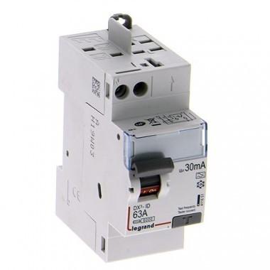LEGRAND DX3 AUTO Interrupteur différentiel Type A 63A 30mA - 411651