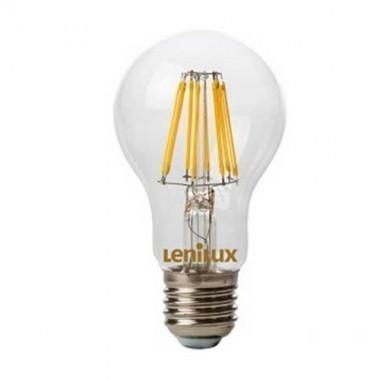 ampoule led filament dimmable lenilux e27 230v 8w 80w standard 340145. Black Bedroom Furniture Sets. Home Design Ideas