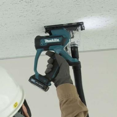 Scie à plaques de plâtre sans fil MAKITA 12V avec 2 batteries 2Ah - SD100DSAJ