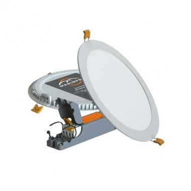 Downlight LED MARIMFRA variable 1600lm 220mm  4000°K blanc 230V 18W - DL-18W-D220-4000K