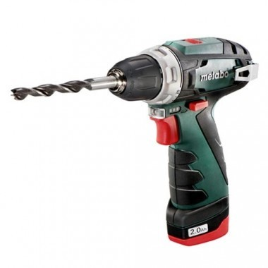 METABO Perceuse Visseuse sans fil 10,8V 2x2Ah PowerMaxx BS Basic - 600080500