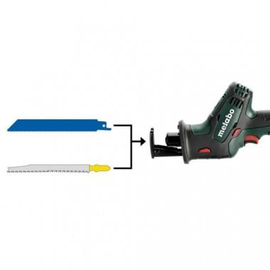 Scie sabre METABO sans fil 18V avec coffret Metaloc - 602266840
