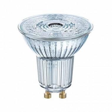 Lot de 10 spots LED OSRAM PAR16 dimmable GU10 36° 230V 6,4W(=50W) 350lm 2700°K