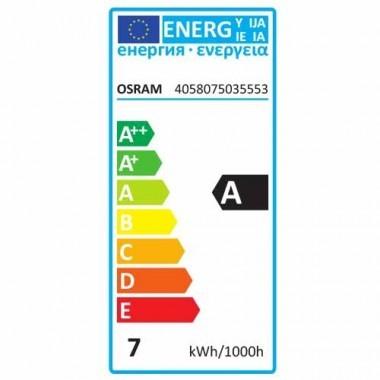 Lot de 10 spots LED OSRAM PAR16 GU10 dimmable 36° 230V 6,4W(=50W) 350lm 2700°K