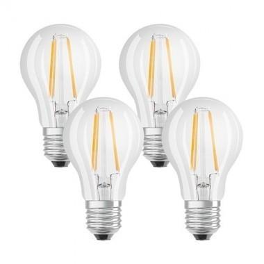 lot de 4 ampoules led filament osram e27 230v 7w 60w standard. Black Bedroom Furniture Sets. Home Design Ideas