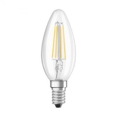 lot de 4 ampoules led filament osram e14 230v 4w 40w flamme. Black Bedroom Furniture Sets. Home Design Ideas