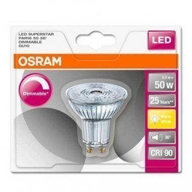 OSRAM Spot LED PAR51 GU10 36° dimmable blanc chaud 230V 5,5W 350lm - 3