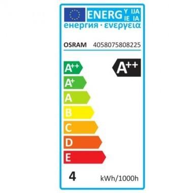 OSRAM Ampoule LED en verre dépoli flamme 4W 470lm B22d 230V