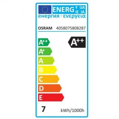 OSRAM Ampoule LED en verre dépoli E27 blanc froid 806lm dimmable standard 230V 6,5W