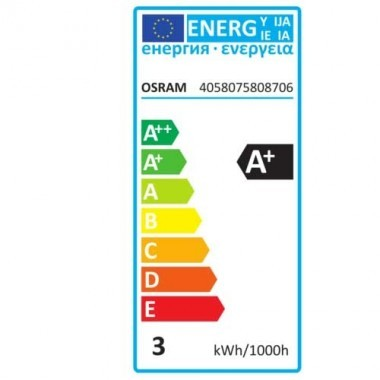 OSRAM Ampoule LED filament E27 230V 2,8W 200lm Edison or édition 1906