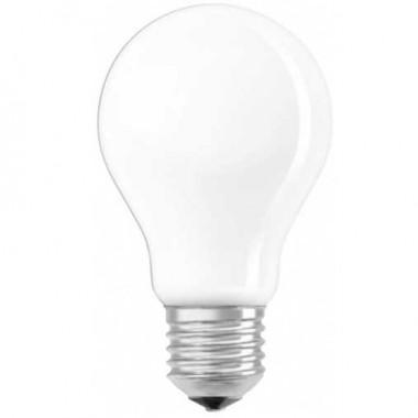 OSRAM Lot de 2 Ampoules LED en verre dépoli 1055lm E27 8W standard blanc chaud 230V - 2