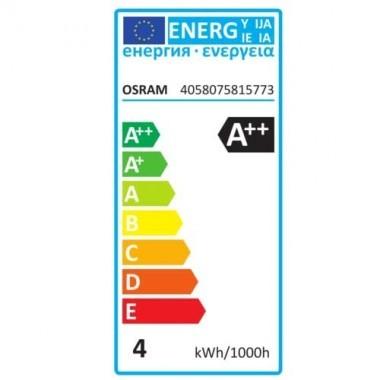 OSRAM Lot de 2 Ampoules LED filament E14 flamme 470lm 4W 230V