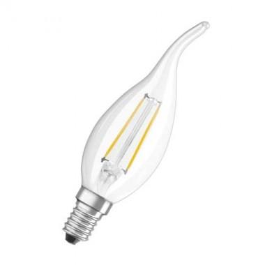 OSRAM Ampoule LED filament flamme coup de vent 2,8W 230V 230lm E14 - 3