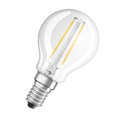 OSRAM Ampoule LED filament sphérique 2,8W 230lm E14 230V - 2