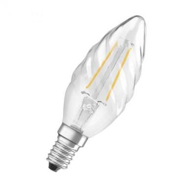 OSRAM Ampoule LED filament flamme torsadée E14 230V 2,8W 250lm - 2