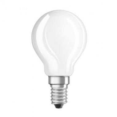 OSRAM Ampoule LED en verre dépoli E14 230V 4W 470lm sphérique