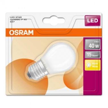 OSRAM Ampoule LED sphérique 4W 470lm E27 230V en verre dépoli - 3