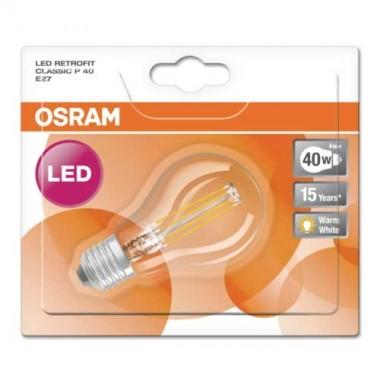 OSRAM Ampoule LED filament E27 230V 4W 470lm sphérique - 3