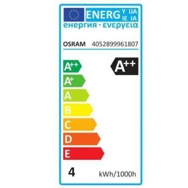 OSRAM Ampoule LED filament sphérique E27 230V 4W 470lm