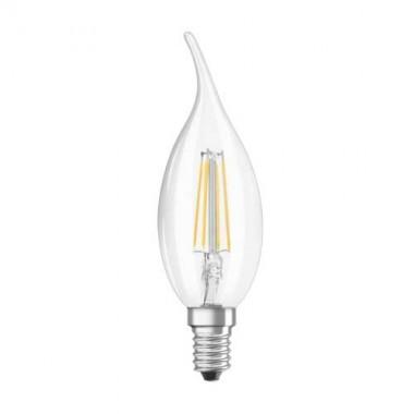 OSRAM Ampoule LED filament E14 230V 4W 470lm flamme coup de vent