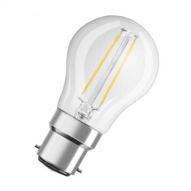 OSRAM Ampoule LED filament sphérique 2,8W 230V 250lm B22d - 2