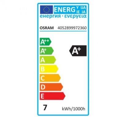 OSRAM Ampoule LED filament E27 230V 7W 650lm Edison or édition 1906