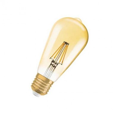 OSRAM Ampoule LED filament Edison or édition 1906 E27 230V 7W 650lm   - 2