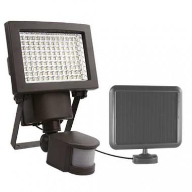 Projecteur solaire LED à détection 8W 1000lm 6000°K anthracite