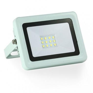 Projecteur extérieur LED extra plat 230V 10W 900lm 4000°K blanc