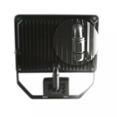Projecteur extérieur LED 230V 10W 900lm 4000°K noir extra plat à détection