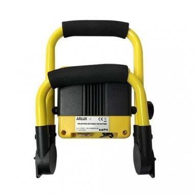 Projecteur de chantier LED sur batterie extra plat 20W 1000lm 4000°K IP44