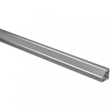 Profil aluminium d'angle pour ruban LED - 1m - Lot de 2