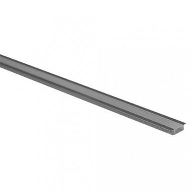 Profil aluminium à encastrer pour ruban led - 1m - Lot de 2