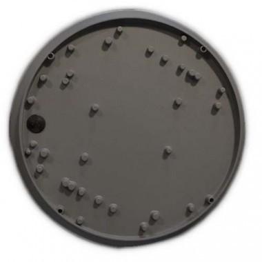 Hublot extérieur LED anthracite 230V 12W 600lm 3000°K 300mm