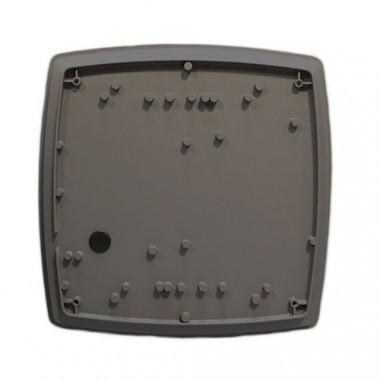Hublot extérieur LED anthracite 230V 12W 600lm 3000°K 300x300mm