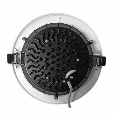 Downlight LED COB 230V 15W 1500lm 4000°K 190mm blanc à encastrer